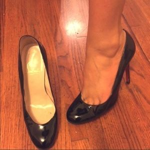 Christian louboutin sexy black heels size 7